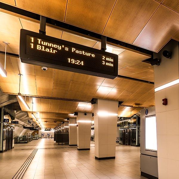 Hall de la station Lyon.