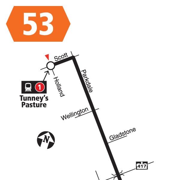 Route 53 map effective December 20, 2020.