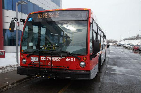 Photo d'un autobus Nova