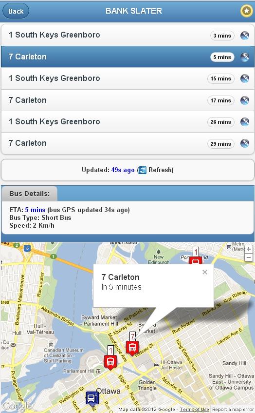 OC Bus Tracker - Screenshot 3