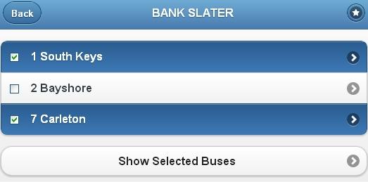 OC Bus Tracker - Screenshot 2