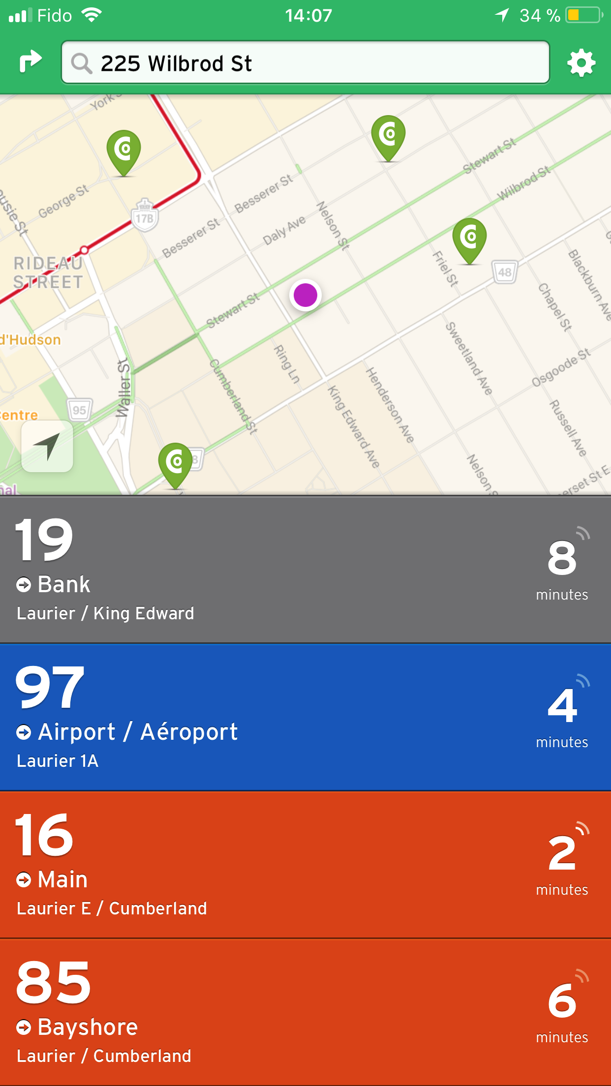 Transit App - Screenshot 1