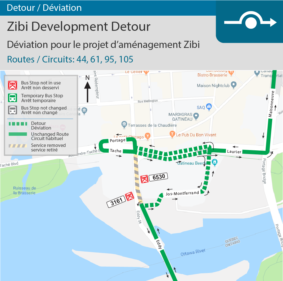Chaudière Bridge Re-opening & Zibi Development