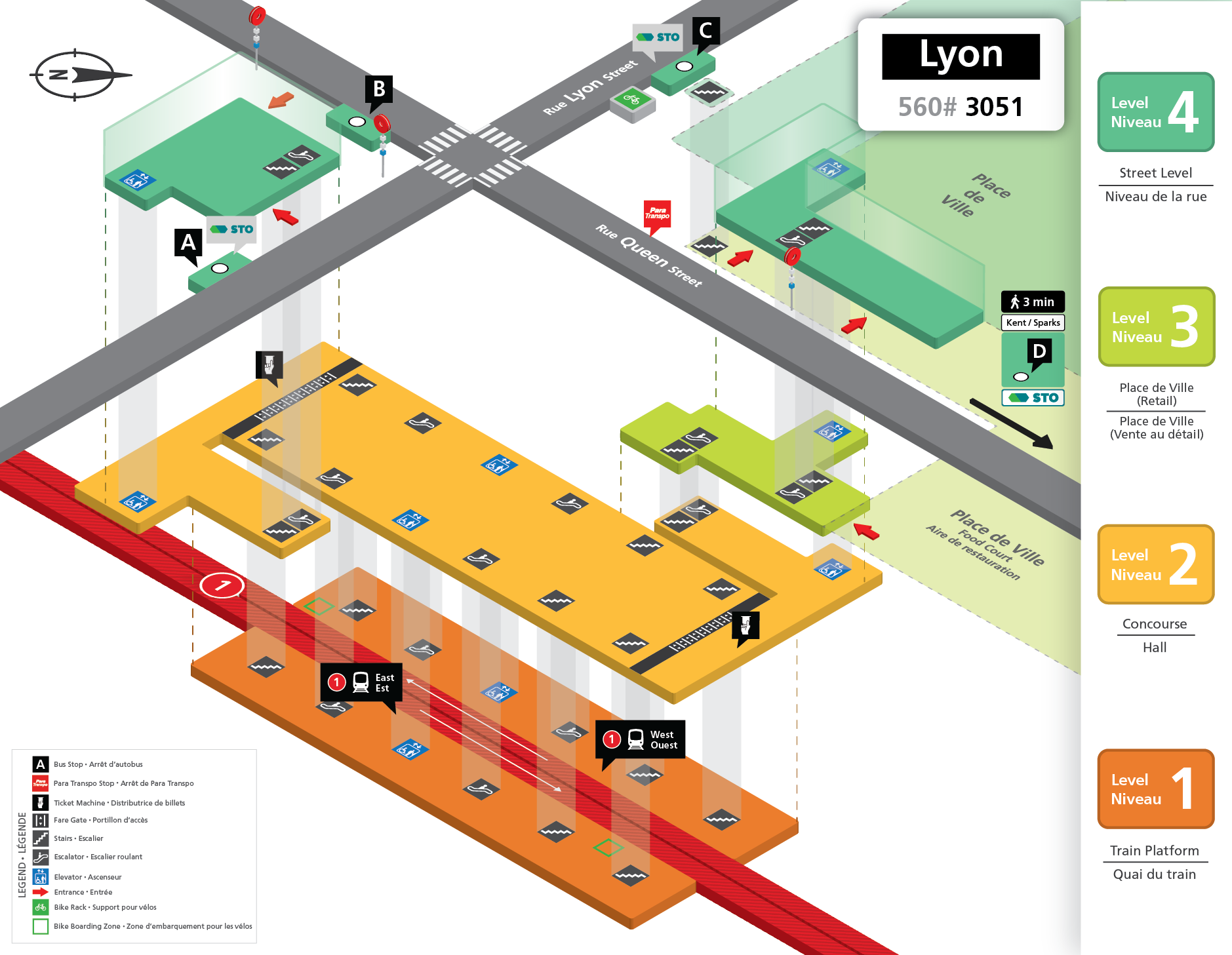 New Lyon Station layout