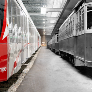 Inside Belfast Yard c. 2020. OC Transpo, City of Ottawa