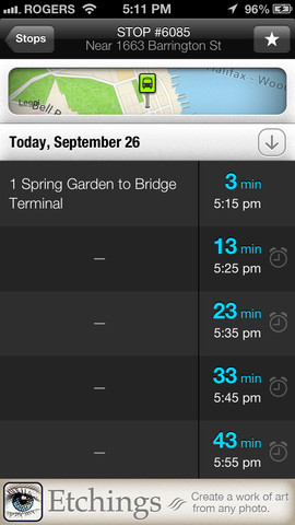 Transit 360 - Screenshot 3