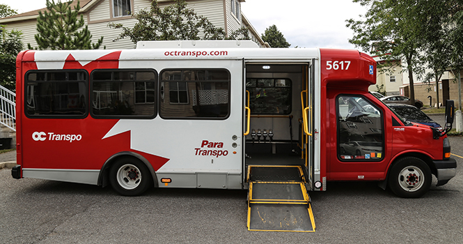 Para Transpo bus side ramp