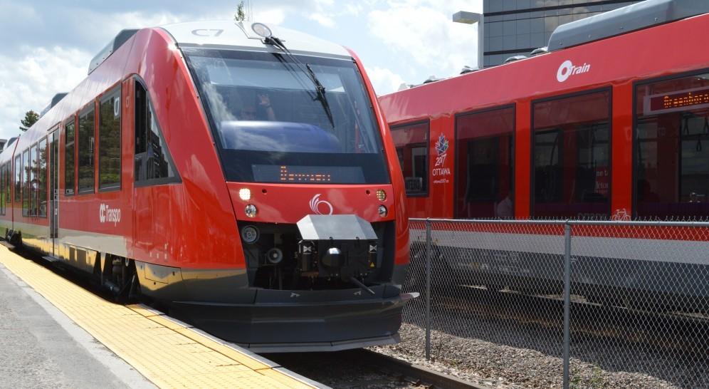 Alstom Coradia Lint trains