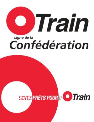 O-Train Ligne de la Confédération - Soyez prêts pour l'O-Train banner.