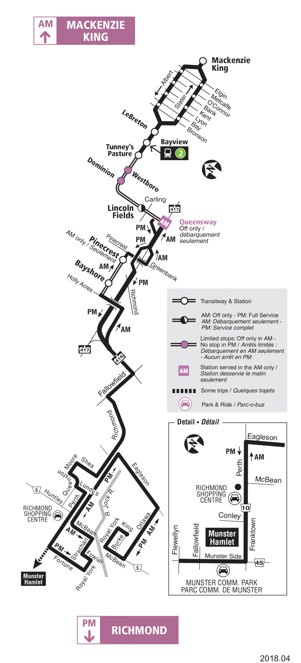 Route 283 map