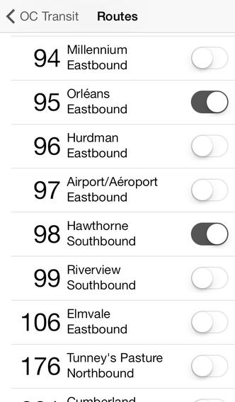 Ottawa OC Transit - Screenshot 3