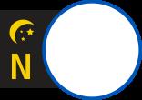 Symbole des circuits de nuit