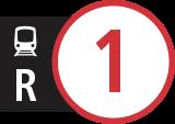 Symbole des service de remplacement R1