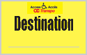 Carte Destination