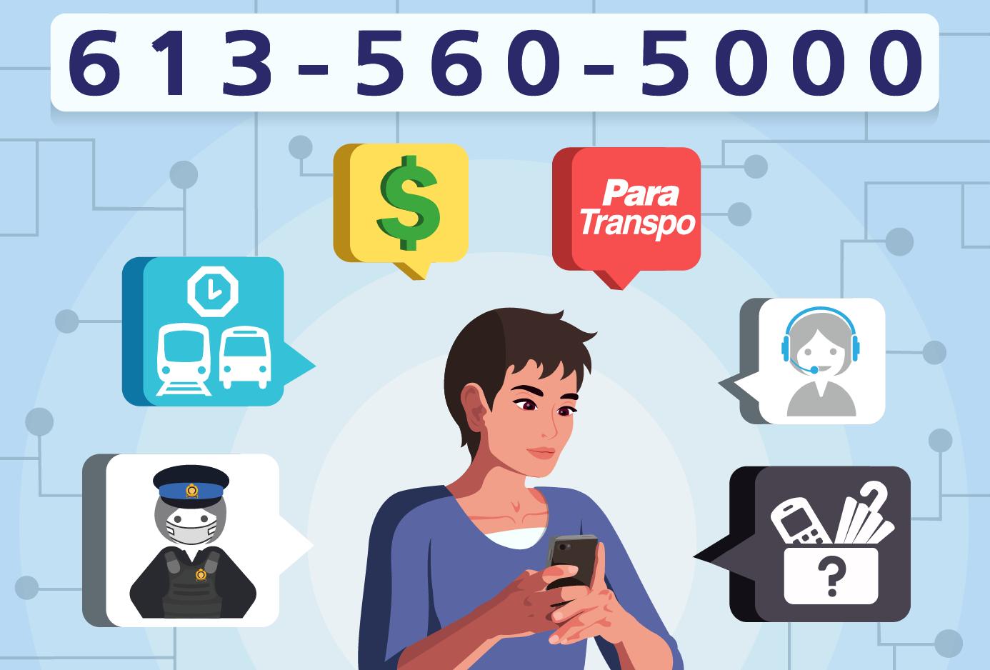 Image - 613-560-5000 – Un seul numéro pour tous nos services