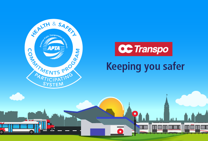 Image - OC Transpo first Canadian transit agency to join APTA's Health and Safety Commitments Program