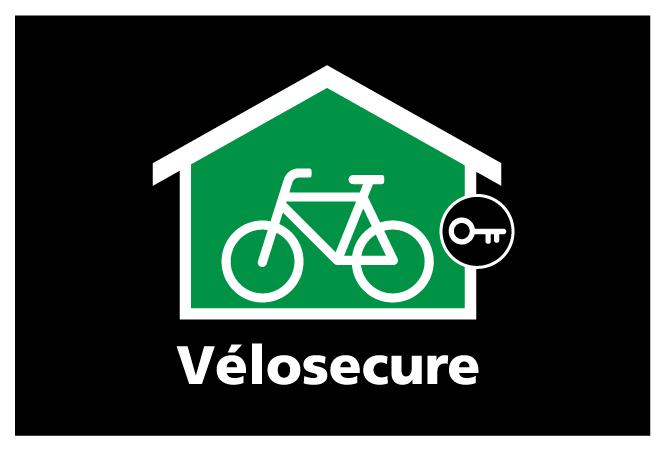 Le logo pour le programme Vélosecure.