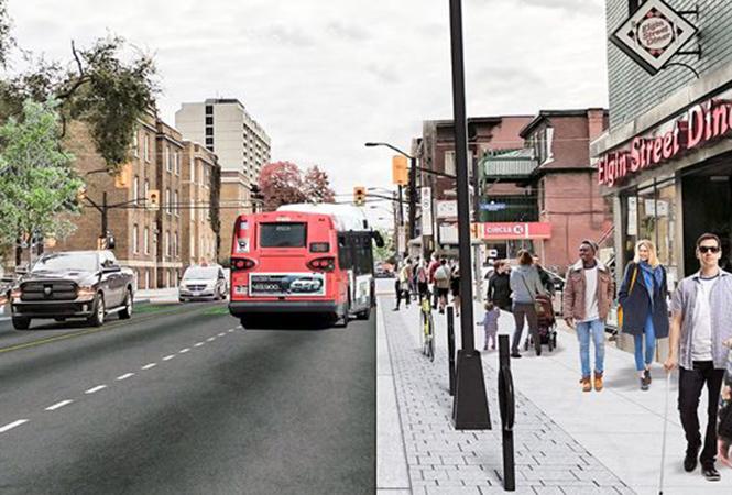 Image - Réouverture de la rue Elgin le 16décembre
