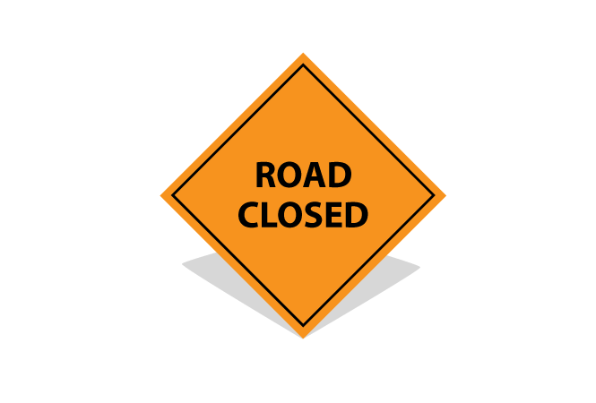 Elgin will be fully closed to traffic on April 1