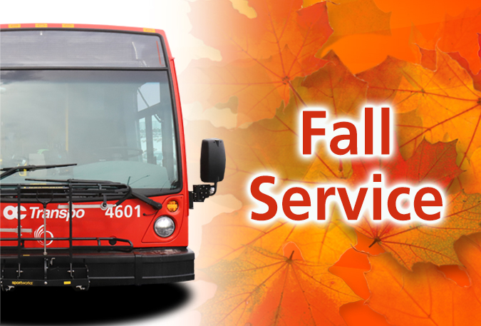 Image - Fall service change starts Sept. 1