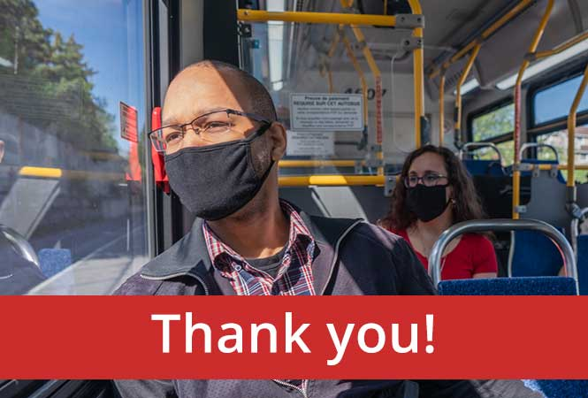 Image - Thank you for wearing a mask