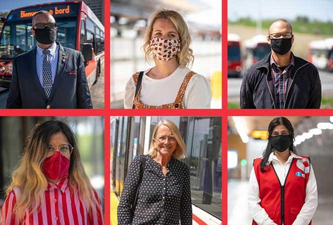 Image - Les masques en tissu dans les transports en commun