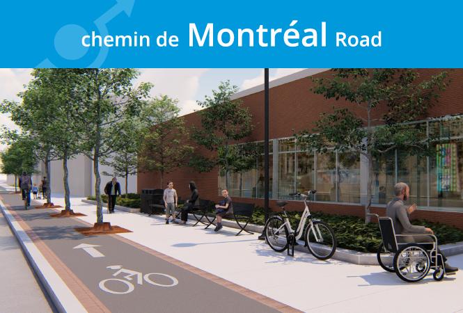 Image - Fermeture du chemin de Montréal le 18 avril