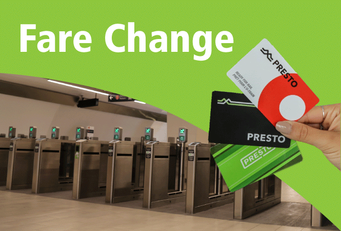 Image - Fare change takes effect October 1