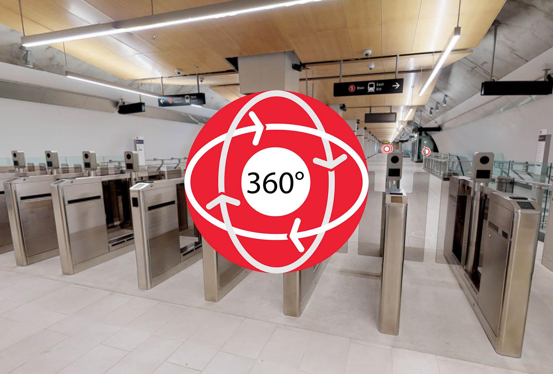 Image - Prêt pour l'O-Train: Visite 360 degrés de la station Lyon