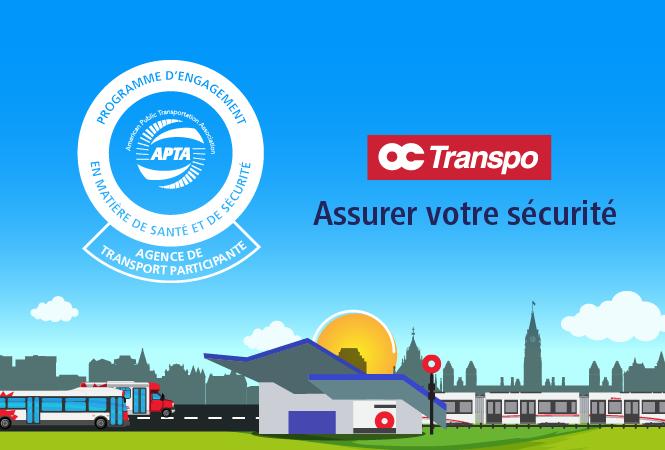 Image - OC Transpo est la première société de transport en commun canadienne à participer au Programme d'engagement en matière de santé et de sécurité de l'APTA