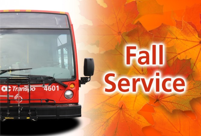 Image - Fall service change starts Sept. 1