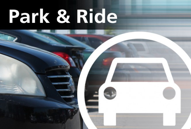 Park & Ride Banner