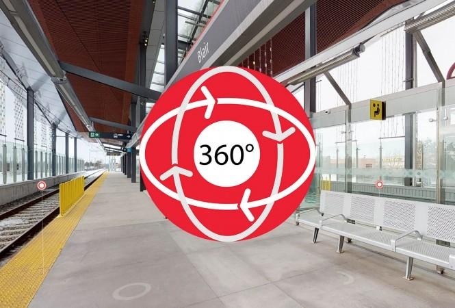 Icône représentant un visite 360