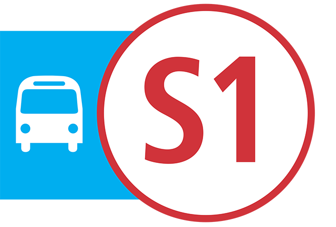 Image - S1 Supplemental bus service on Wednesday, January 29
