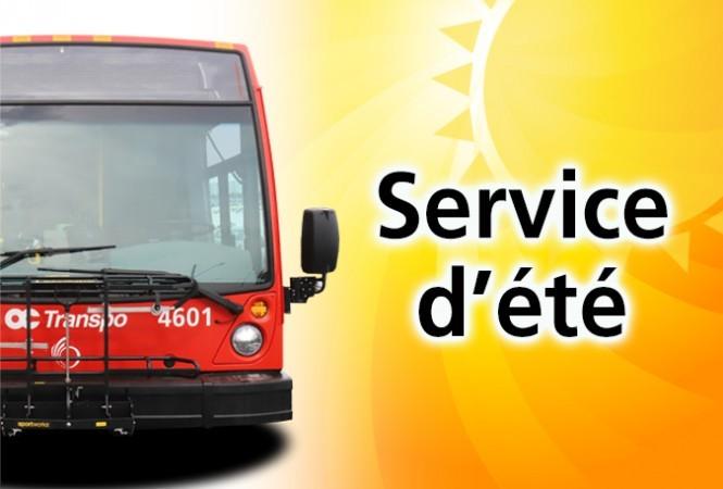 Autobus avec un soleil