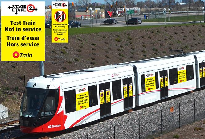 Image - Mise à l'essai des trains de l'Étape 2 sur la Ligne1