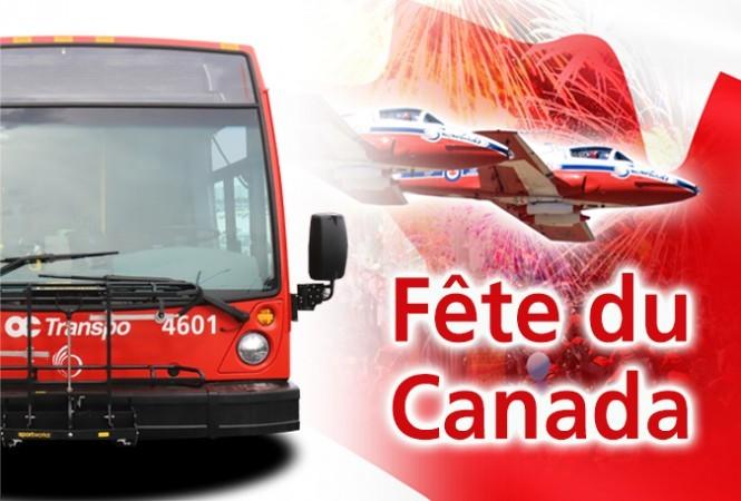 Bannière de la fête du Canada