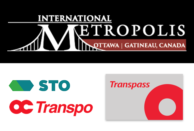 Metropolis Conference logo with example of a Transpass