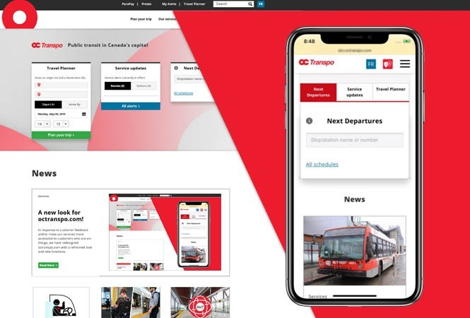 Image - A new look for octranspo.com!