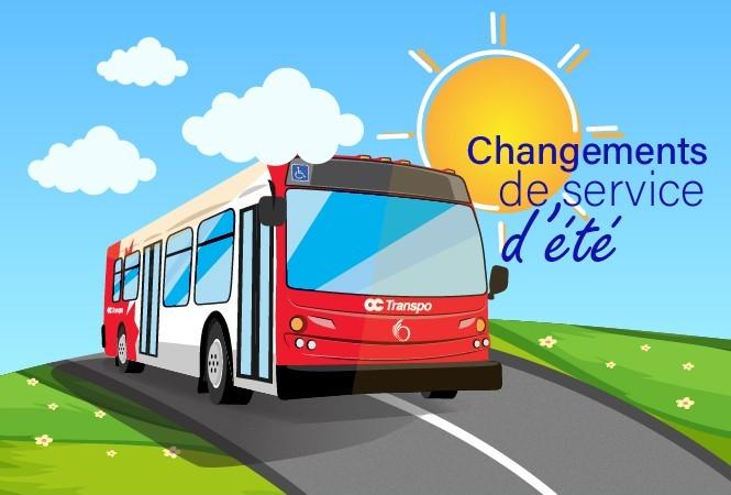 Image - Changements de service pour le été