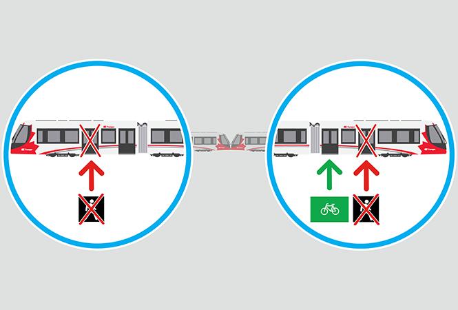 Image - Fermeture temporaire des portes les plus près de la cabine du conducteur – ligne 1