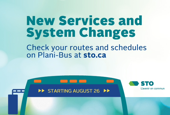 Image - Starting August 26 - Modified itinerary for STO route 20