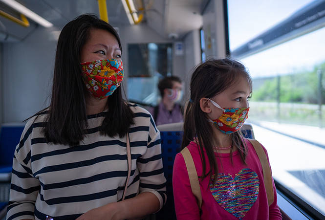 Image - Cloth masks on transit: Frequently Asked Questions