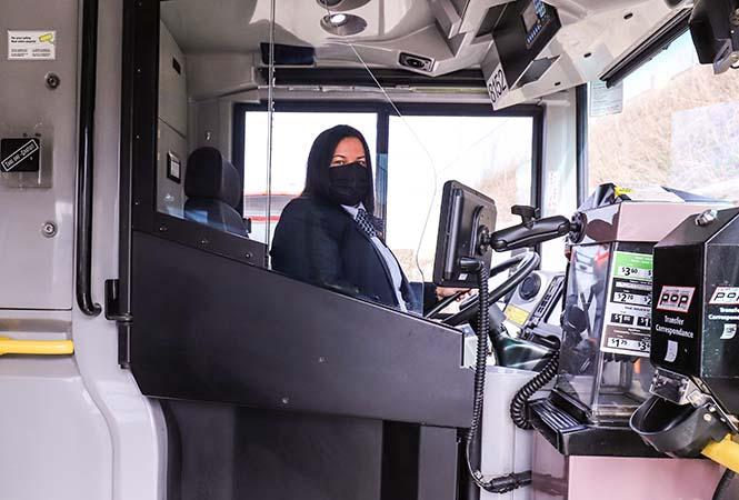 Image - Barrières de protection permanentes pour les chauffeurs d'autobus